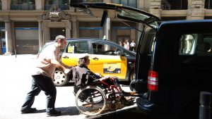 disabled wheelchair accessible transfer Barcelona