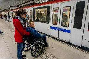 wheelchair accessible public transport barcelona