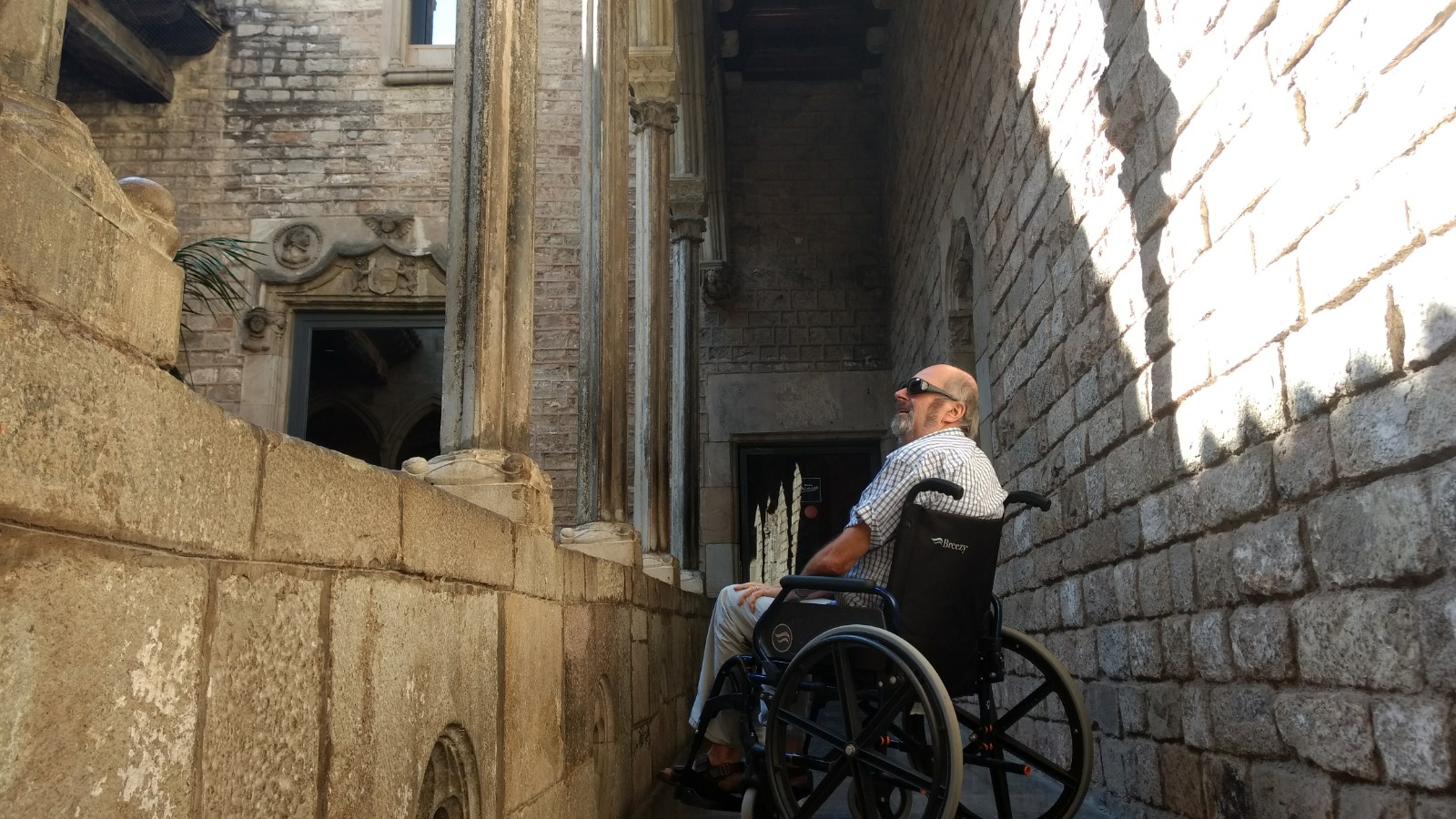 Travel to europe in a wheelchair